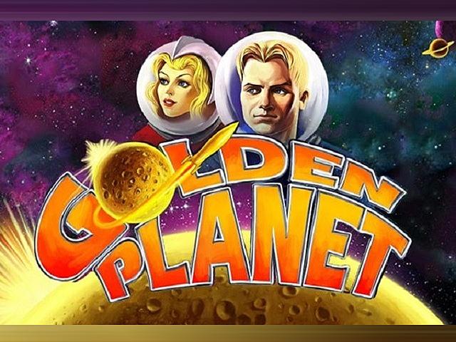 В игровой аппарат Golden Planet играть онлайн