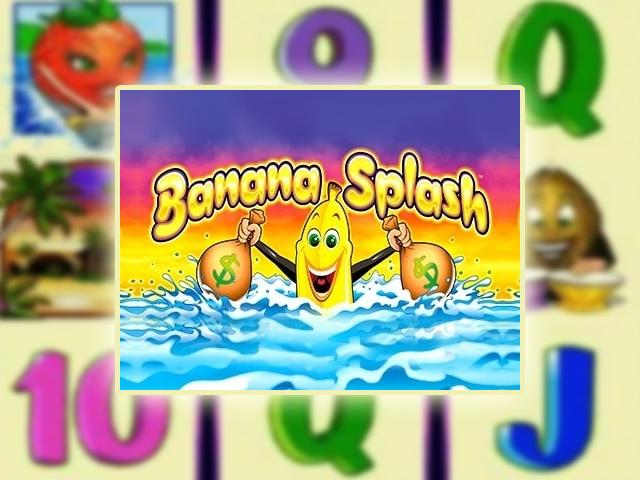 В игровой аппарат Banana Splash играть бесплатно
