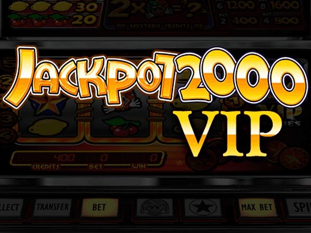 В игровой аппарат Jackpot 2000 VIP играть онлайн